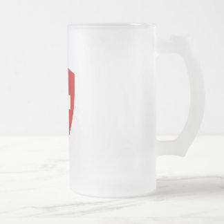 Escudo de armas suizo - recuerdo de Suiza Taza De Café