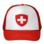 Escudo de armas suizo - recuerdo suizo gorro de camionero