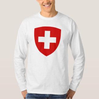 Escudo de armas suizo - recuerdo suizo remera
