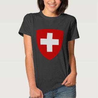 Escudo de armas suizo - recuerdo suizo remeras
