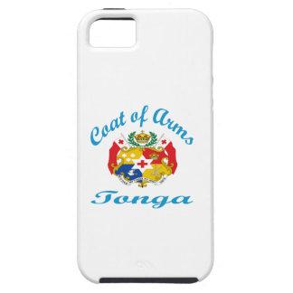 Escudo de armas Tonga iPhone 5 Case-Mate Coberturas