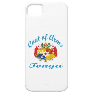 Escudo de armas Tonga iPhone 5 Cobertura