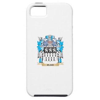Escudo de armas verde oliva - escudo de la familia iPhone 5 protectores