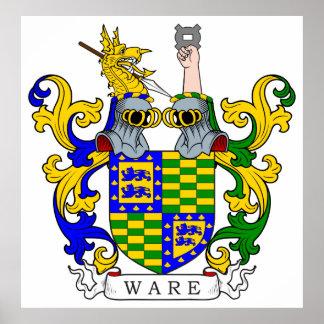 Escudo de armas VII de las mercancías Póster