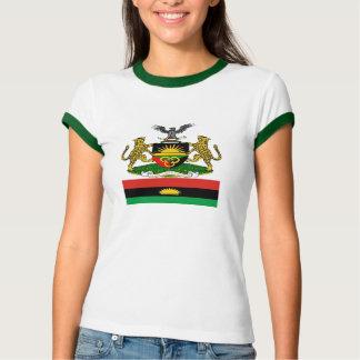 Escudo de armas y bandera de Biafran Playera