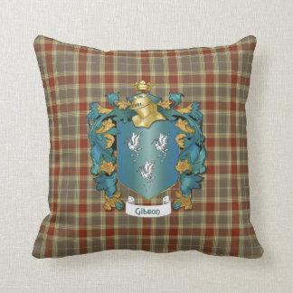 Escudo de armas y tartán - inglés de Gibson Almohadas