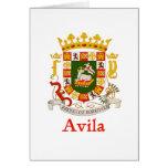 Escudo de Ávila Puerto Rico Felicitaciones