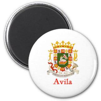 Escudo de Ávila Puerto Rico Iman De Frigorífico