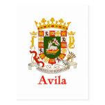 Escudo de Ávila Puerto Rico Postales