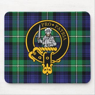 Escudo de Bannerman y cojín de ratón escoceses del