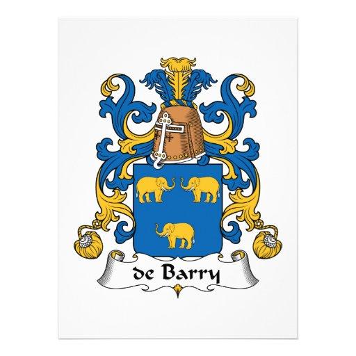 escudo de Barry Family Anuncio