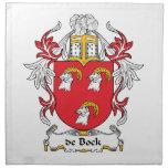 escudo de Bock Family Servilleta