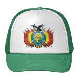 Escudo de Bolivia Gorras