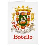 Escudo de Botello de Puerto Rico Felicitacion