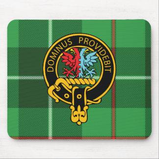 Escudo de Boyle y cojín de ratón escoceses del tar