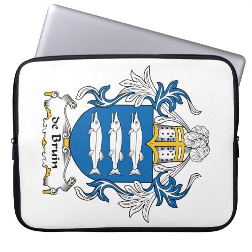 escudo de Bruin Family Funda Ordendadores