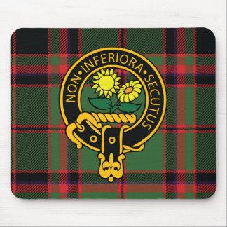 Escudo de Buchan y cojín de ratón escoceses del ta