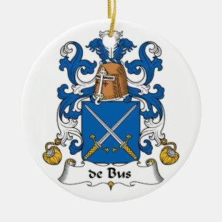escudo de Bus Family Ornamentos De Reyes Magos