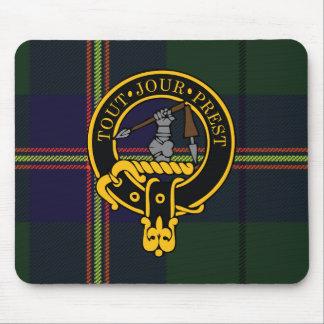 Escudo de Carmichael y cojín de ratón escoceses de Mousepad