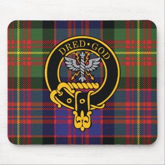 Escudo de Carnegie y cojín de ratón escoceses del  Alfombrilla De Ratones