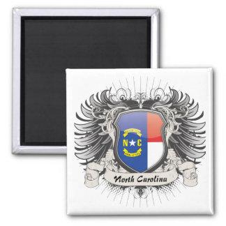 Escudo de Carolina del Norte Imanes