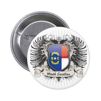 Escudo de Carolina del Norte Pins