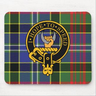 Escudo de Cathcart y cojín de ratón escoceses del  Alfombrillas De Ratón