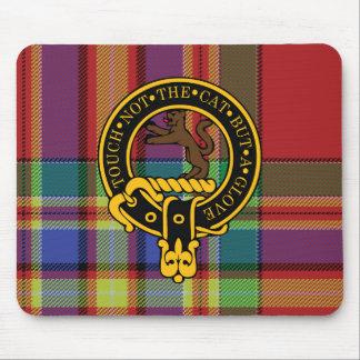 Escudo de Chattan y cojín de ratón escoceses del t Alfombrilla De Ratones
