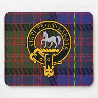 Escudo de Cochranne y cojín de ratón escoceses del