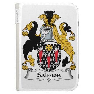 Escudo de color salmón de la familia
