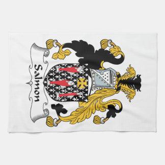 Escudo de color salmón de la familia toalla