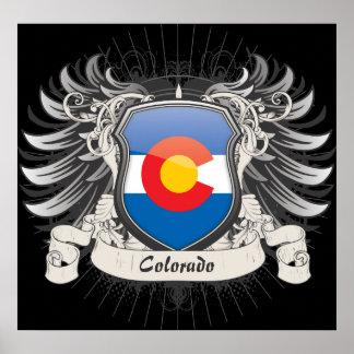 Escudo de Colorado Poster