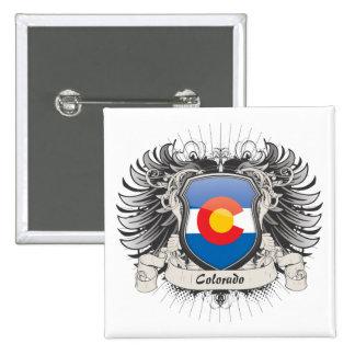 Escudo de Colorado Pin