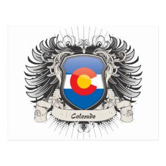 Escudo de Colorado Postales