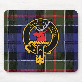 Escudo de Colquhoun y cojín de ratón escoceses del Mouse Pads