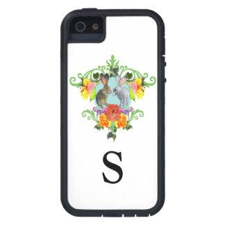 Escudo de conejos iPhone 5 fundas