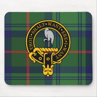 Escudo de Cranstoun y cojín de ratón escoceses del Tapetes De Ratones