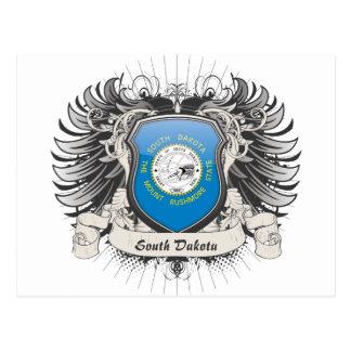 Escudo de Dakota del Sur Tarjetas Postales