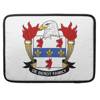 Escudo de De Berdt Family Funda Macbook Pro