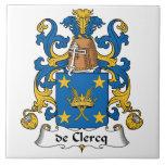 Escudo de De Clercq Family Tejas Cerámicas