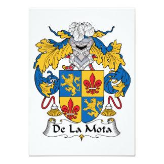 """Escudo de De La Mota Family Invitación 5"""" X 7"""""""