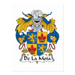 Escudo de De La Mota Family Postal
