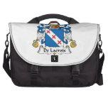 Escudo de De Lacroix Family Bolsa Para Ordenador