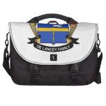 Escudo de De Lancey Family Bolsas De Ordenador