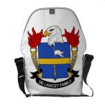 Escudo de De Lancey Family Bolsas Messenger
