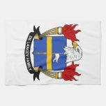 Escudo de De Lancey Family Toallas