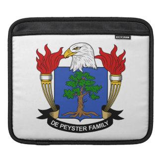 Escudo de De Peyster Family Funda Para iPads