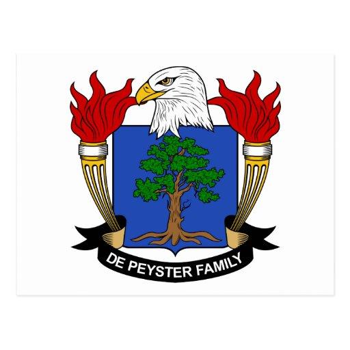 Escudo de De Peyster Family Postal