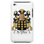 Escudo de De Villers Family iPod Case-Mate Carcasa