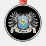 Escudo de Delaware Adorno Para Reyes